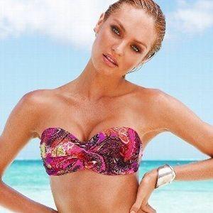 Victoria's Secret Push Up Bandeau Bikini Top 38D💖
